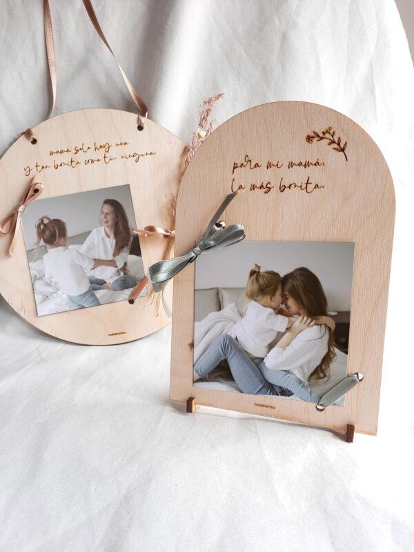portafotos madera para el día de la madre